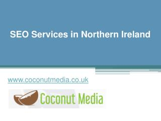 SEO Services in Northern Ireland - www.coconutmedia.co.uk