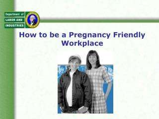 How to be a Pregnancy Friendly Workplace