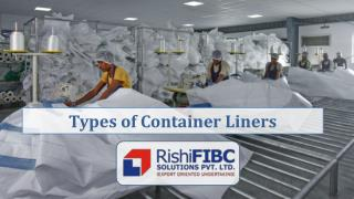 Types of Container liners