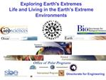 Exploring Earths Extremes Life and Living in the Earth s Extreme Environments