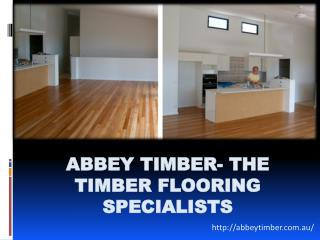 Abbey Timber- The Timber Flooring Specialists