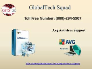 Avg Antivirus Support in USA Toll Free 1-800-294-5907