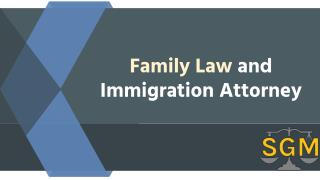 Family Law and Immigration Attorney: S.G. Morrow