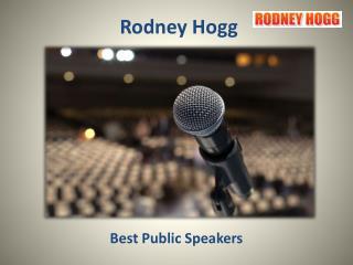 Guest Speaker - Rodney Hogg