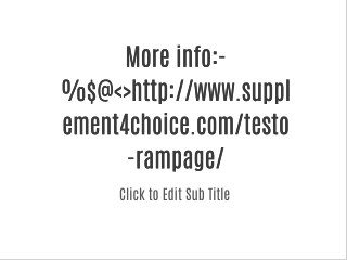supplement4choice.com/testo-rampage