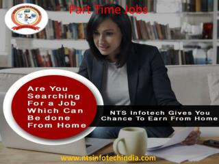 Part Time Jobs in India @ Nts Infotech