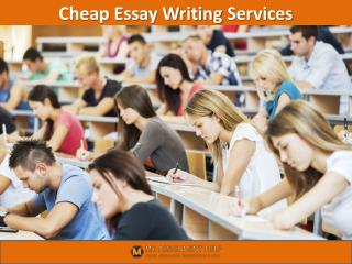 Cheap Essay Writing Services in UK