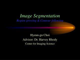 Image Segmentation Region growing & Contour following