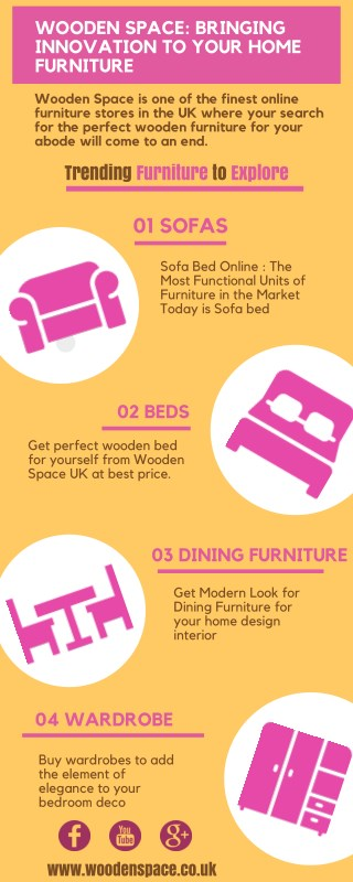Wooden Space: Bringing Innovation To Your Home Furniture