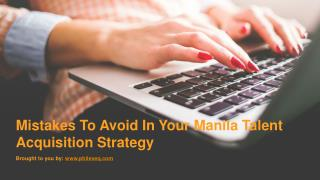 Advantages Of Hiring Through An Executive Search Firm Manila
