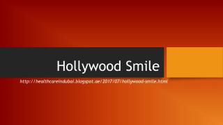 Hollywood Smile