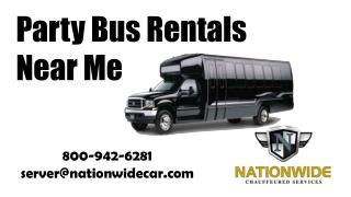Searching Affordable Party Bus Rentals Near Me?
