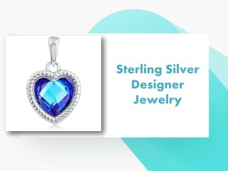 Sterling Silver Designer Jewelry