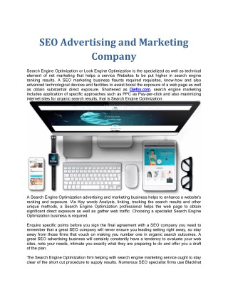 SEO Advertising and Marketing Company