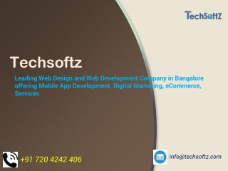 Web, App design & develop with Digital marketing services in bangalore