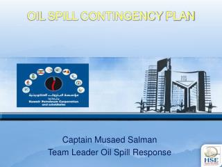 OIL  SPILL  CONTINGENCY  PLAN
