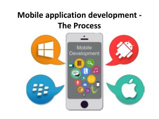 Mobile application development - The Process
