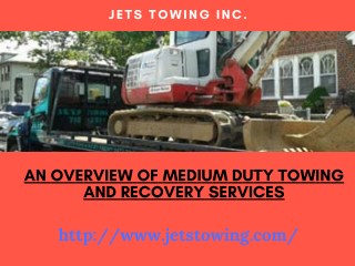 An Overview Of Medium Duty Towing And Recovery Services