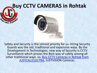 Buy CCTV CAMERAS in Rohtak, Buy Led Bulb in Rohtak, Ro water purifiers in rohtak
