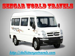 Tempo traveller hire service in delhi