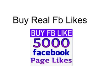 Buy Real Fb Likes