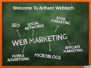 Find best Web Design Services in Quebec with Arihant Webtech Company in Canada