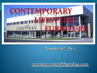 Contemporary  Lifestyles Furniture