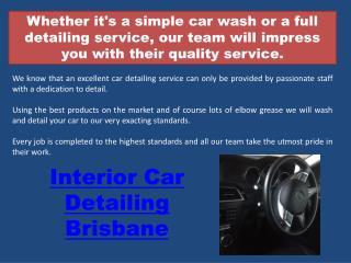 Mobile car wash brisbane
