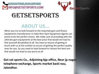 Contact gym equipments manufacturer in Mumbai for gym set-up