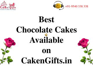 Best Chocolate Cake Delivery Services in Delhi
