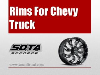Rims For Chevy Truck - www.sotaoffroad.com