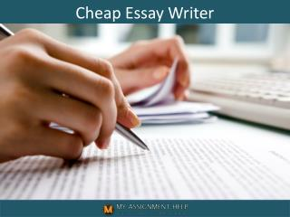 Cheap Essay Writers in UK