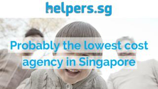 Domestic Helpers In Singapore