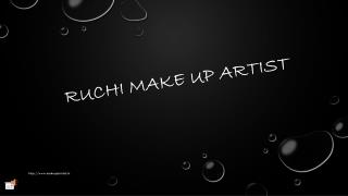 Best Bridal make up artist in Chandigarh |Ruchi Bridal Make up