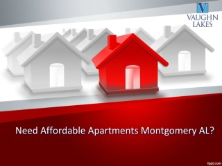 Interested In Luxurious Apartments Montgomery AL?