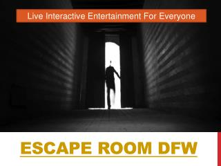 Escape Room Fort Worth