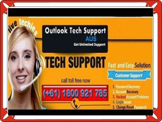 Outlook support number 1-800-921-785 Australia