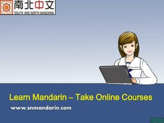 Learn Mandarin – Take Online Courses