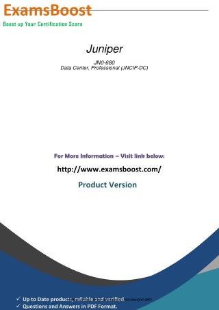JN0-680 Practice Exam Material
