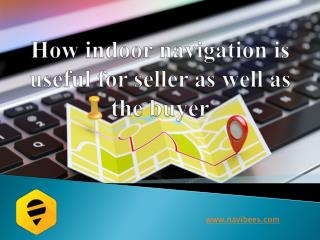 How indoor navigation is useful for seller and buyer