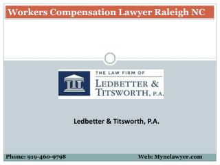 Workers Compensation Lawyer Raleigh NC