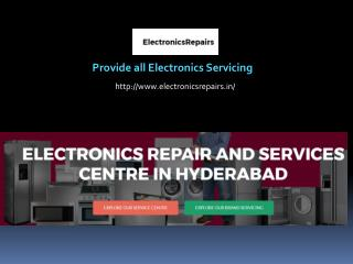 Washing Machine Service Centre in Hyderabad - Electronicsrepairs