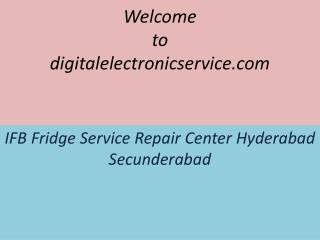 IFB Fridge Service Repair Center Hyderabad Secunderabad