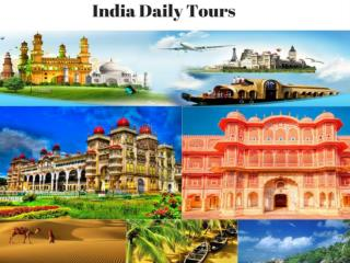 India daily tours with economic packages