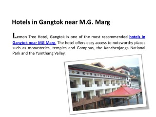 hotels-in-Gangtok-near-MG-Marg