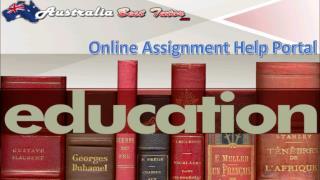 Australia Assignment Help with Australia Best Tutor