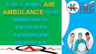 King Air Ambulance in Delhi at Low Cost