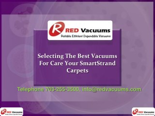 Selecting The Best Vacuums For Care Your SmartStrand Carpets