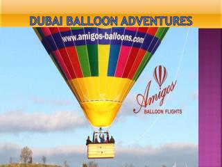 Dubai balloon adventures