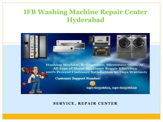 IFB Washing Machine Repair Center in Hyderabad